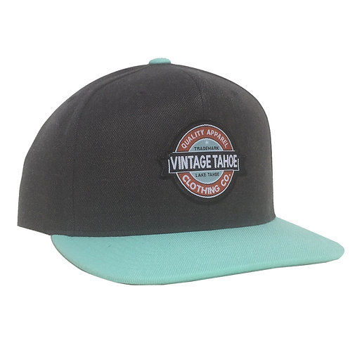 Premium Wool Two Tone Cap