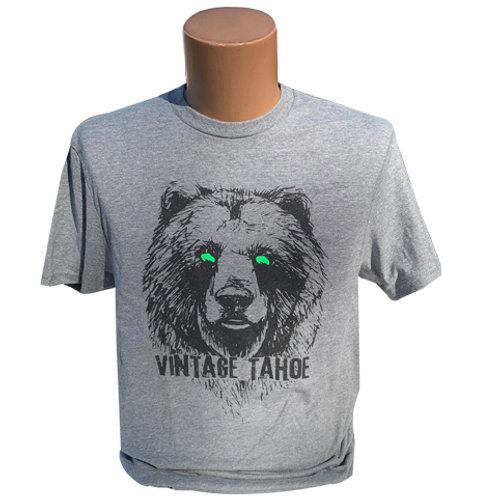 Vintage Green Eyed Bear