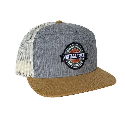 Premium Wool Tri Color Cap