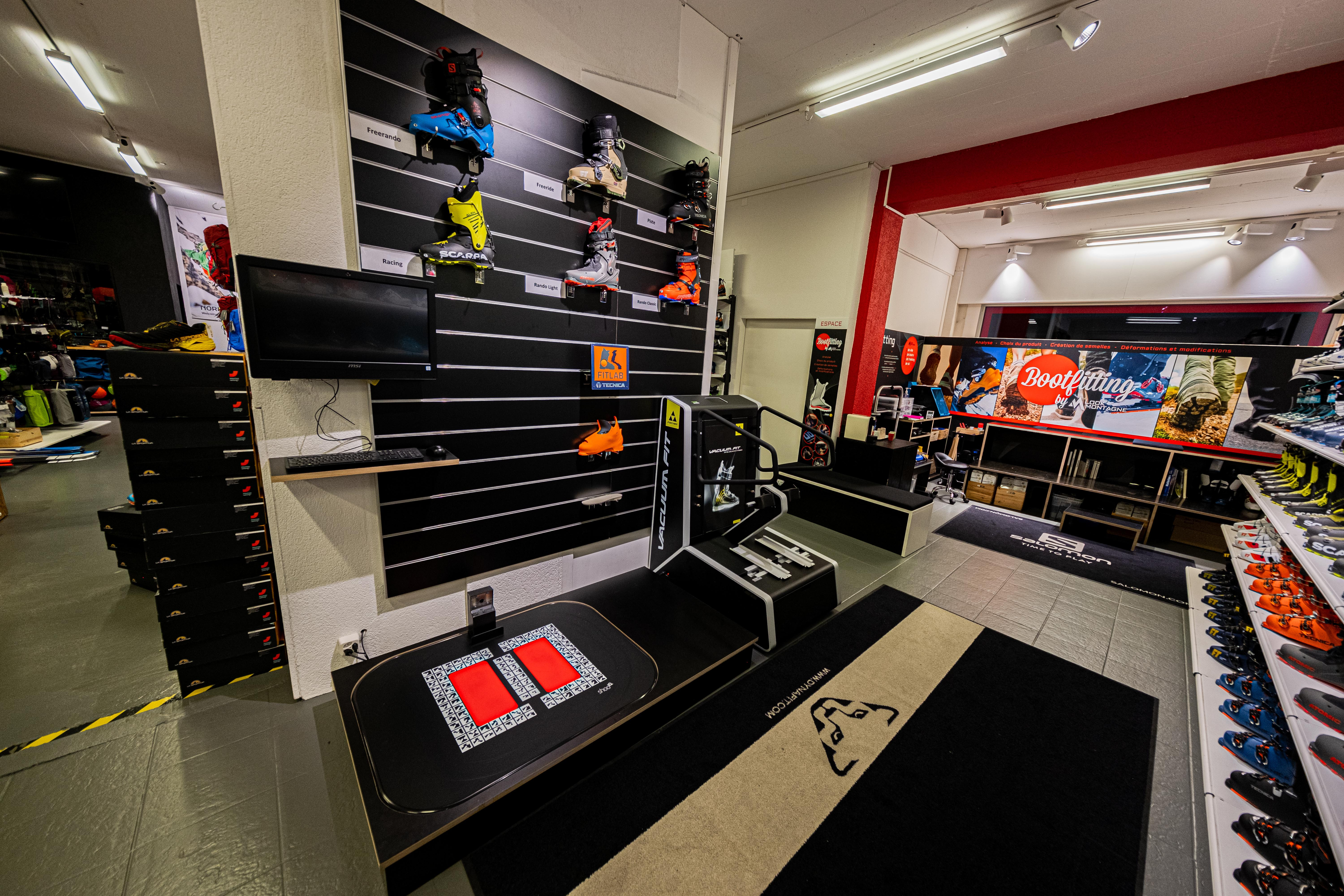 Services Bootfitting