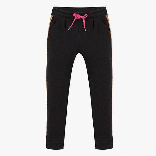 Pantalon molleton à bande Fille Catimini