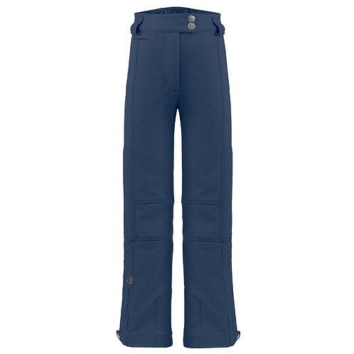 Pantalon de ski stretch fille Poivre Blanc