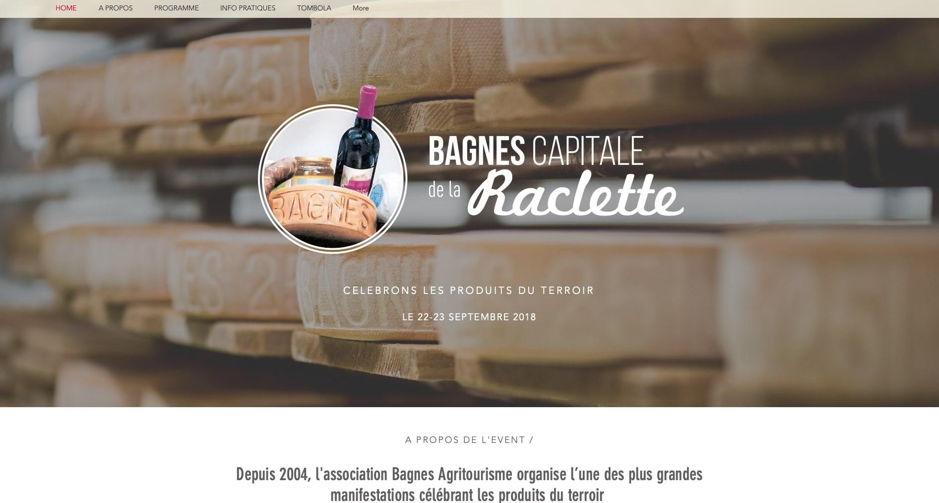 Bagnes Capitale de la raclette