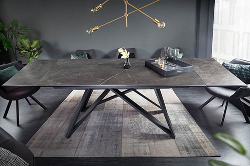 Table à manger Atlas 180-220-260cm céramique graphiste