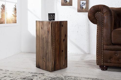 Colonne Akazie 50cm acacia marron vintage