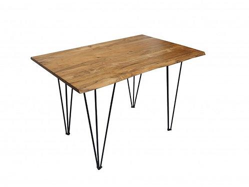 Table à manger Mammut 120cm acacia 26mm