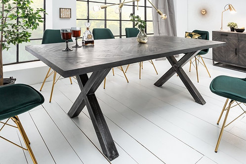 Table à manger Infinity Home 160cm mangue grise