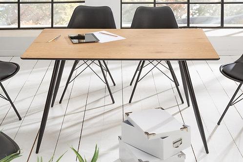 Table à manger appartement 120 cm chêne