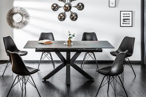 Table à manger design Eternity 180-225cm Céramique lave