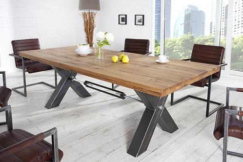 Table à manger design Thor 200cm chêne sauvage