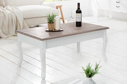 Table basse design Maison Belle Affaire bois huilé 100 cm