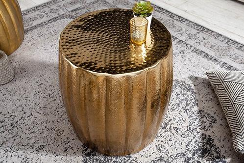 Table d'appoint Marrakech 42cm aluminium doré