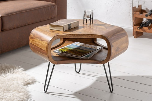 Table basse Organic Living 60cm Sheesham