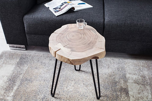 Table d'appoint Goa II 40cm acacia