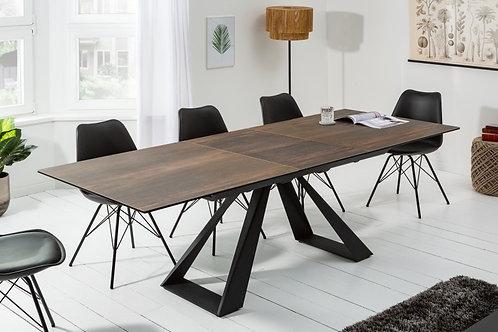 Table à manger Concord 180-230cm aspect chêne céramique