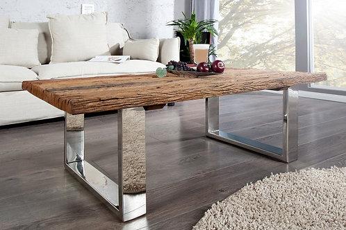 Table basse design Euphoria bois massif 110 cm