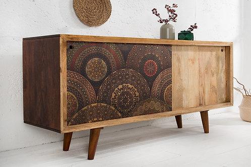 Buffet design Mango motif Madala 160cm
