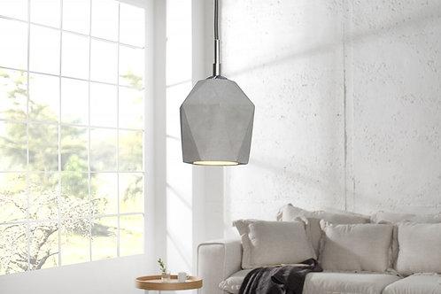 Lampe à suspension design Cement gris