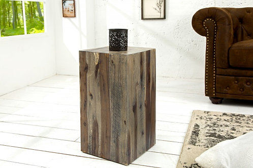 Pilier Columna 50cm vintage bois flotté