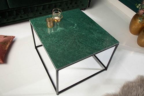 Table basse Elements 50cm marbre vert