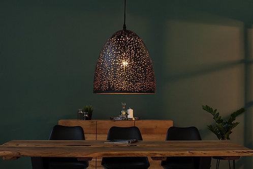 Suspension design Moonlight  en métal noir/cuivré 143 cm