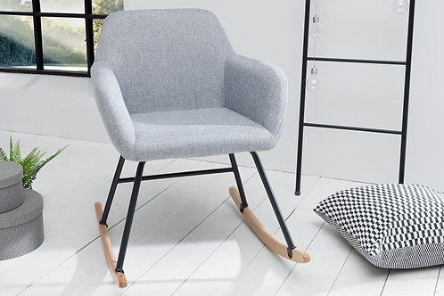 Rocking Chair design Scandinavia gris clair