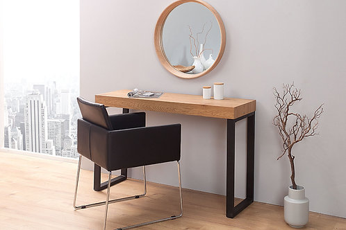 Miroir design Oak en bois massif chêne 43 cm
