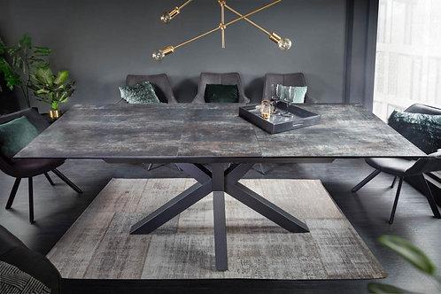Table à manger Eternity 180-225cm lave céramique