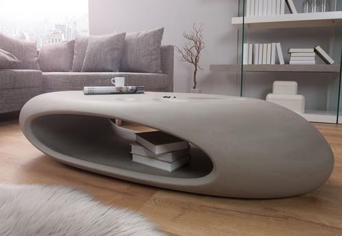 table basse design bton galo