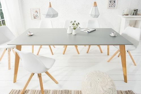 Table à manger design Scandinavia 160cm Gris