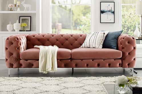 Canapé design Barock 238cm Abricot