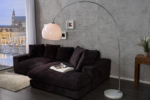 Lampadaire arc design Biw Bow métal/acrylique 205 cm