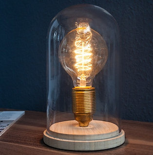 Lampe de table design Edison