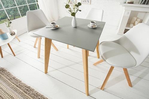 Table à manger design Scandinavia gris 70cm