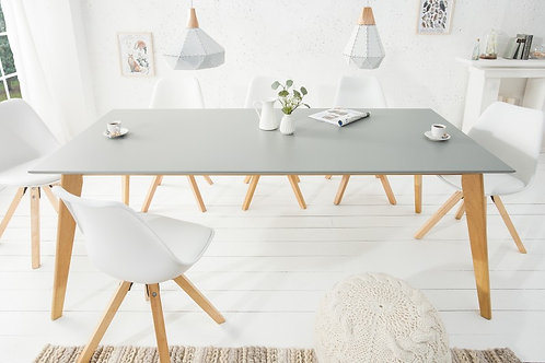 Table à manger design Scandinavia 200cm gris