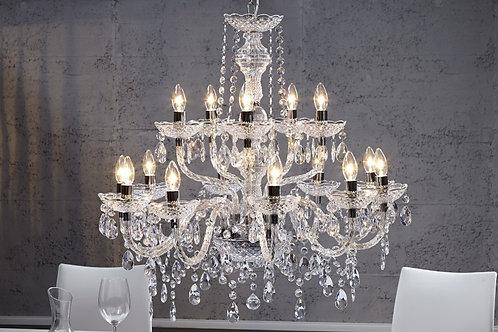 Lampe à suspension design Diamonds 15 lumières