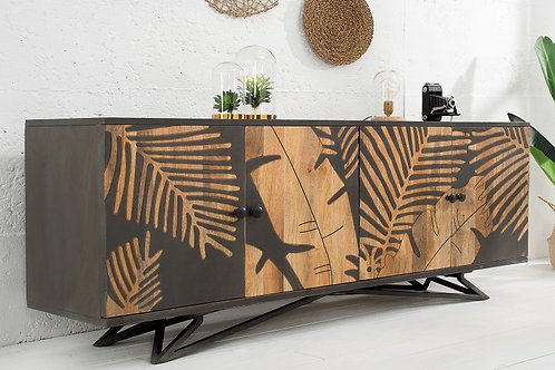 Buffet design Mangue motif Tropical 175cm