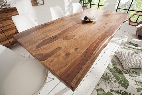 Table à manger Mammut 180cm Sheesham 40mm