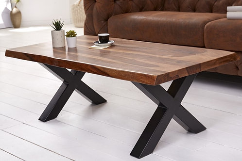 Table basse Amazonas X 110cm Sheesham