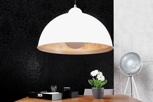Suspension design Studio métal blanc