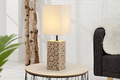 Lampe à poser design Natural bi-matière 45 cm