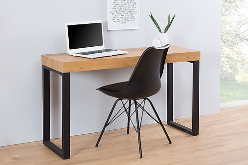 Bureau design Oka Desk 120 cm  Chêne/Métal noir