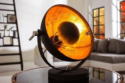 Lampe à poser design Studio noir/or