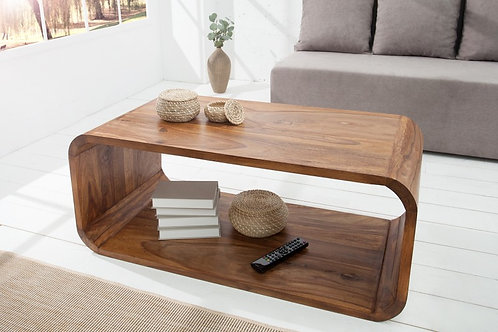Table basse Cubus 100cm Sheesham