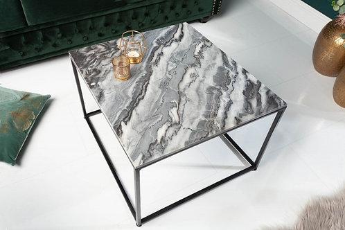 Table basse Elements 50cm marbre gris