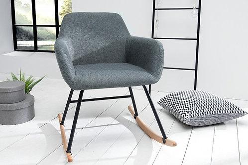 Rocking Chair design Scandinavia gris foncé