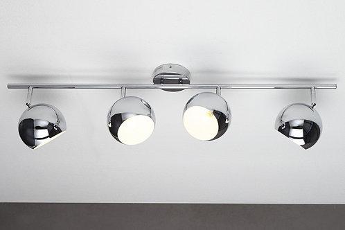 Lampe à suspension design Bubble chrome