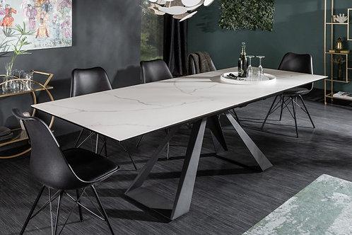 Table à manger Concord 180-230cm aspect marbre céramique