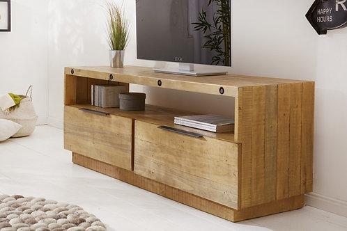 Meuble TV Lowboard Finca 150 cm bois de pin naturel