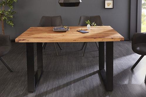 Table à manger Iron Craft II 140cm Sheesham